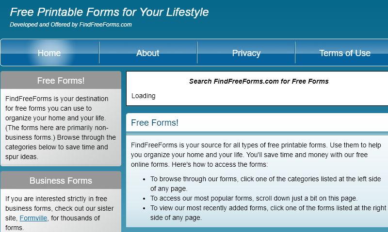 findfreeforms.net