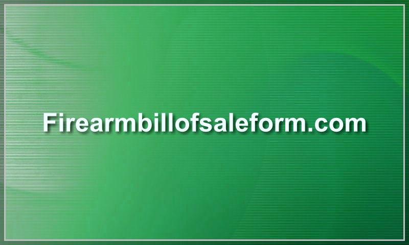 firearmbillofsaleform.com