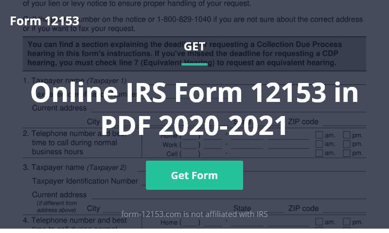 form-12153.com