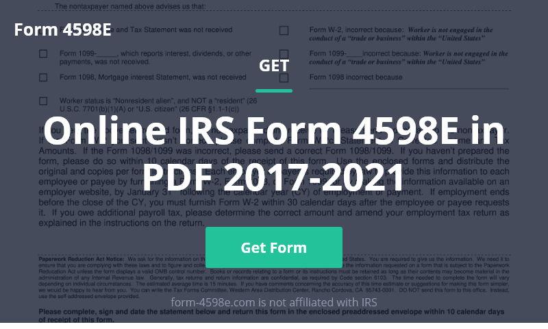 form-4598e.com