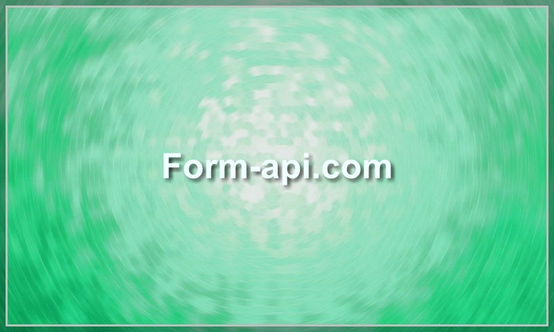 form-api.com