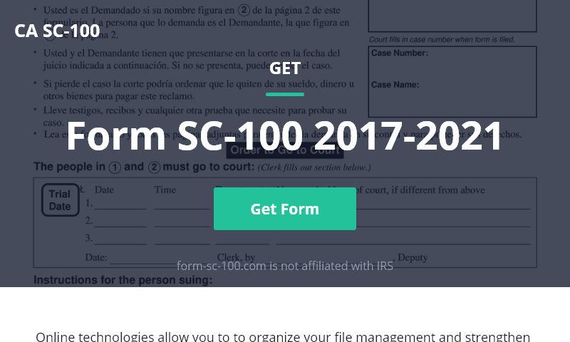 form-sc-100.com