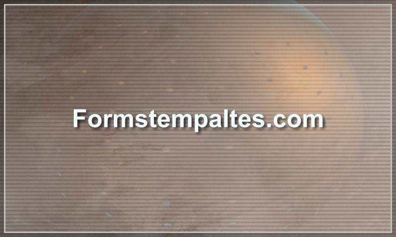 formstempaltes.com