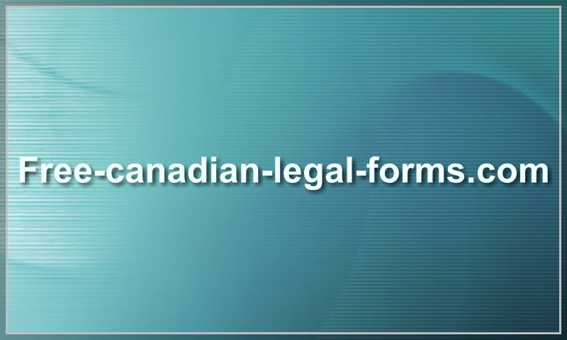 free-canadian-legal-forms.com