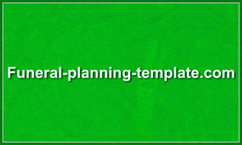funeral-planning-template.com