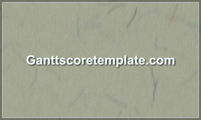 ganttscoretemplate.com