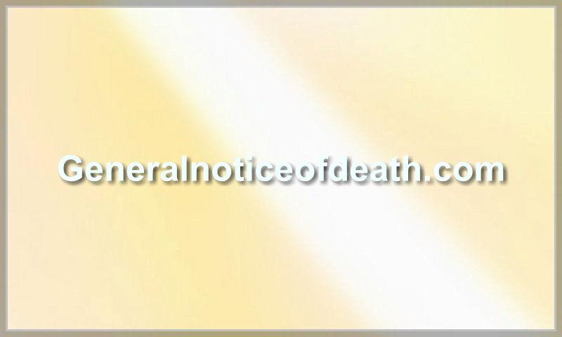 generalnoticeofdeath.com