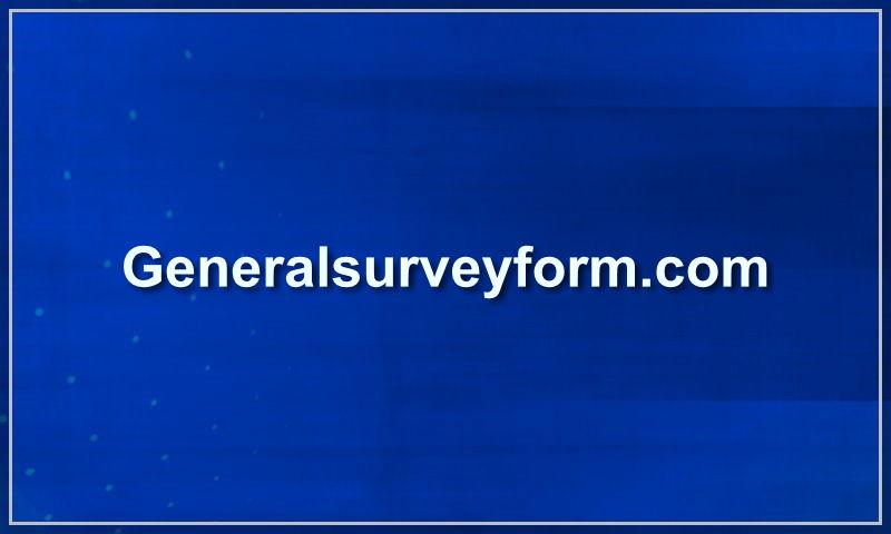 generalsurveyform.com