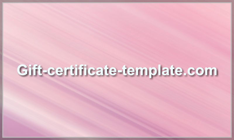 gift-certificate-template.com