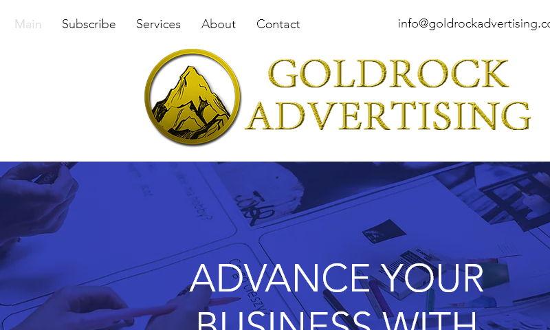 goldrockadvertising.com