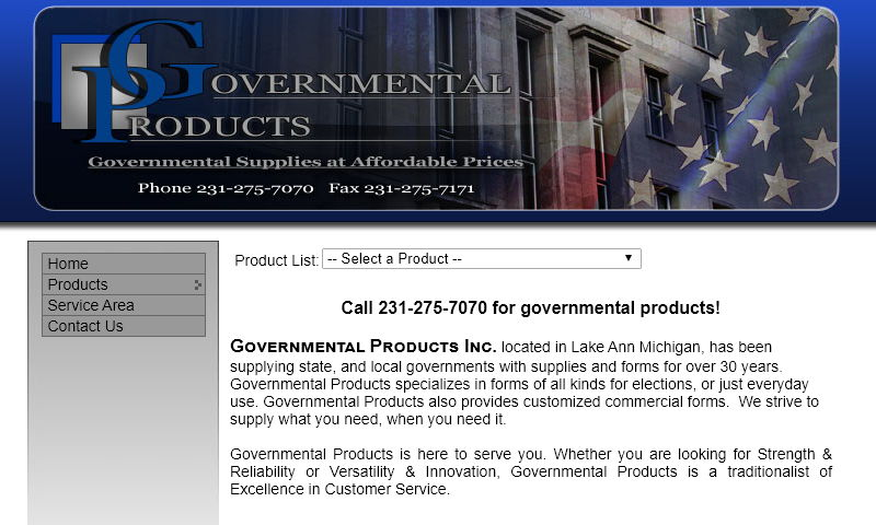 governmentalproducts.com