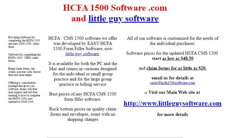 hcfa1500software.com