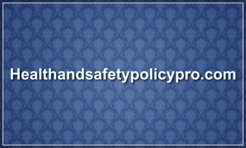 healthandsafetypolicypro.com