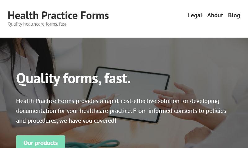 healthpracticeforms.com