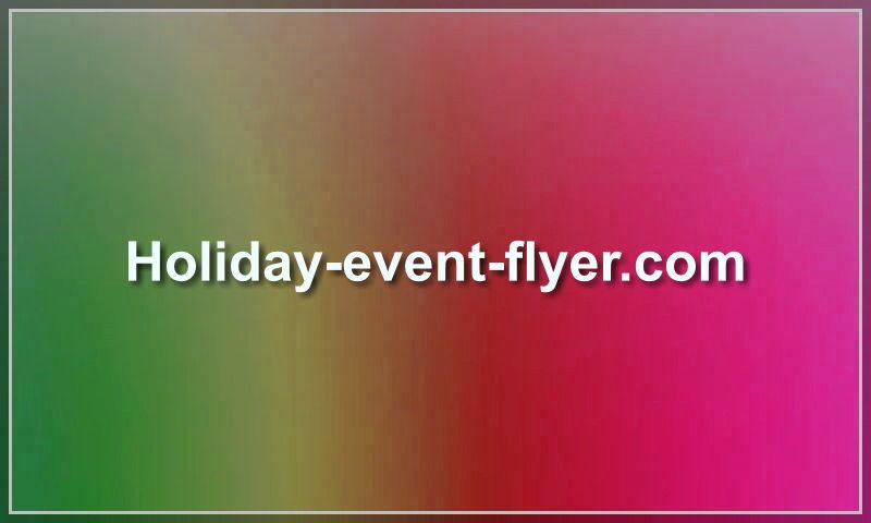 holiday-event-flyer.com