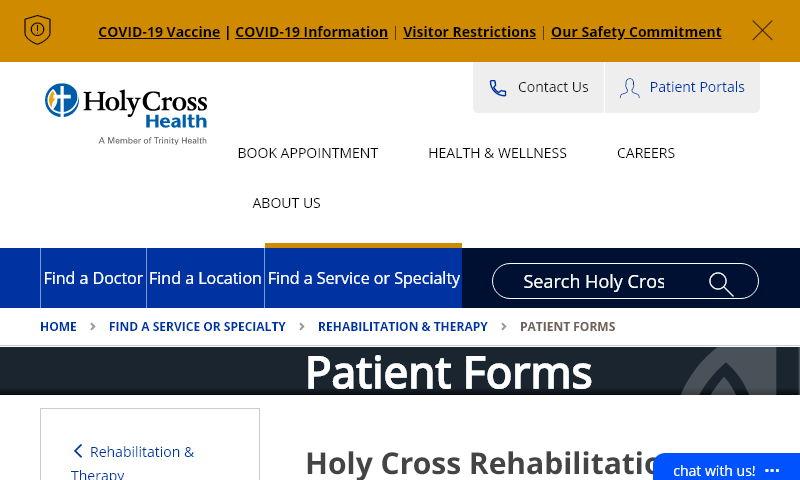 holycrossrehabforms.com