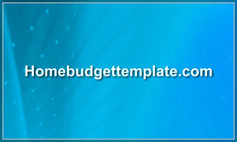homebudgettemplate.com