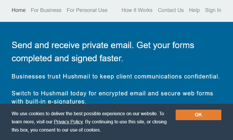 hushmailer.com