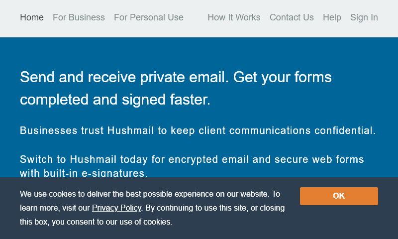 hushmailer.net