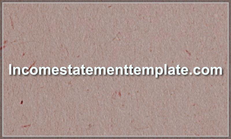 incomestatementtemplate.com
