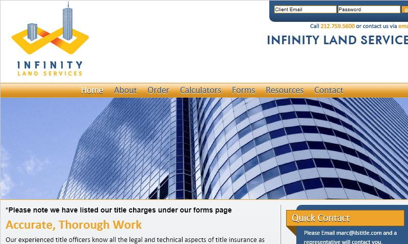 infinitylandservices.com