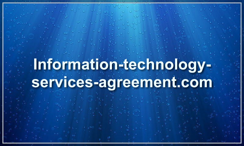 information-technology-services-agreement.com