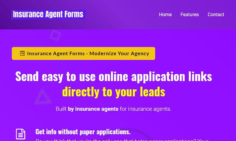 insuranceagentforms.com