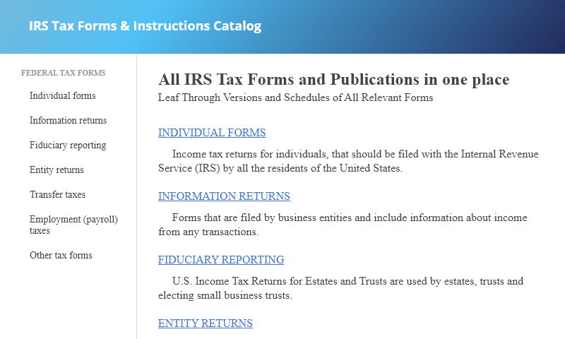 irs-tax-form-catalog.com