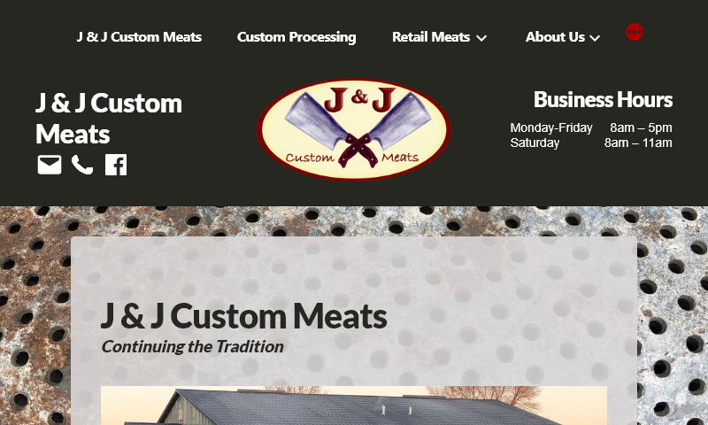 jandjcustommeats.com