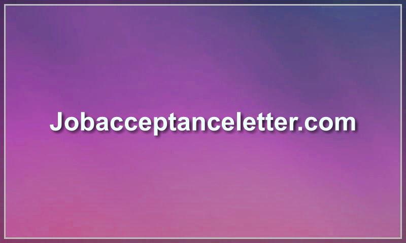 jobacceptanceletter.com