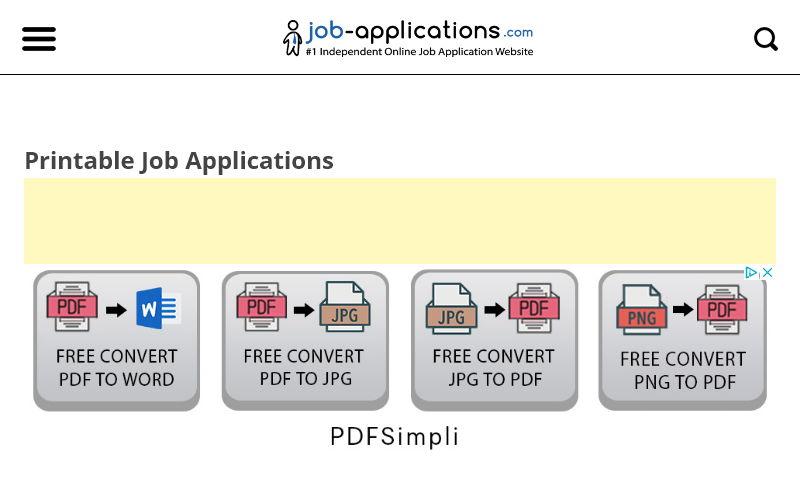 jobapplicationforms.com