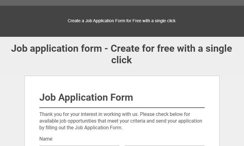 jobapplicationformtemplate.com