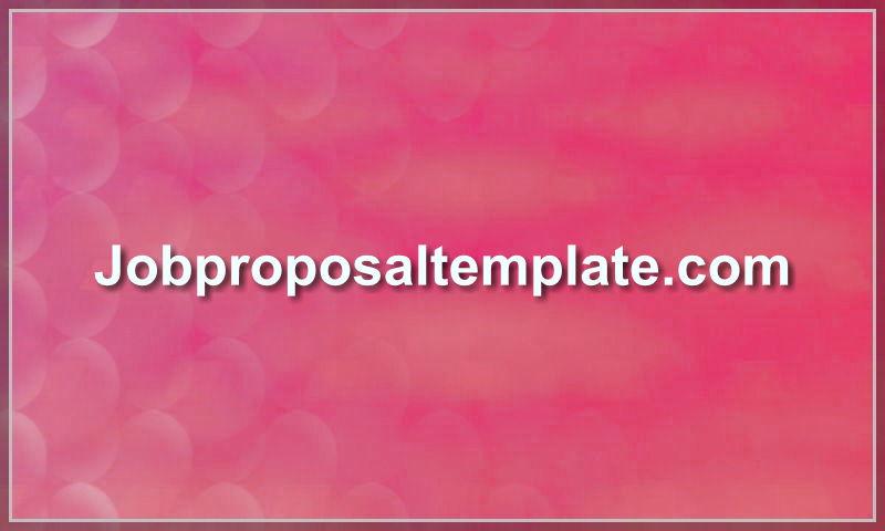 jobproposaltemplate.com