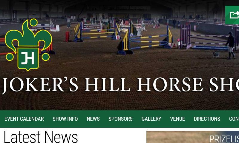 jokershillhorseshows.com