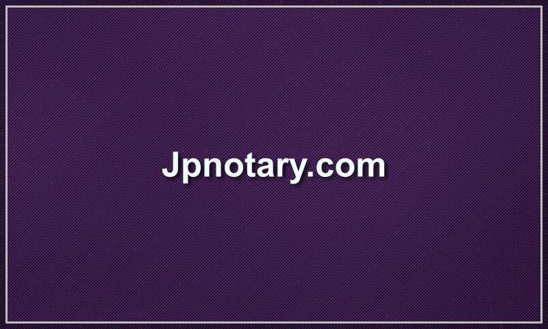 jpnotary.com