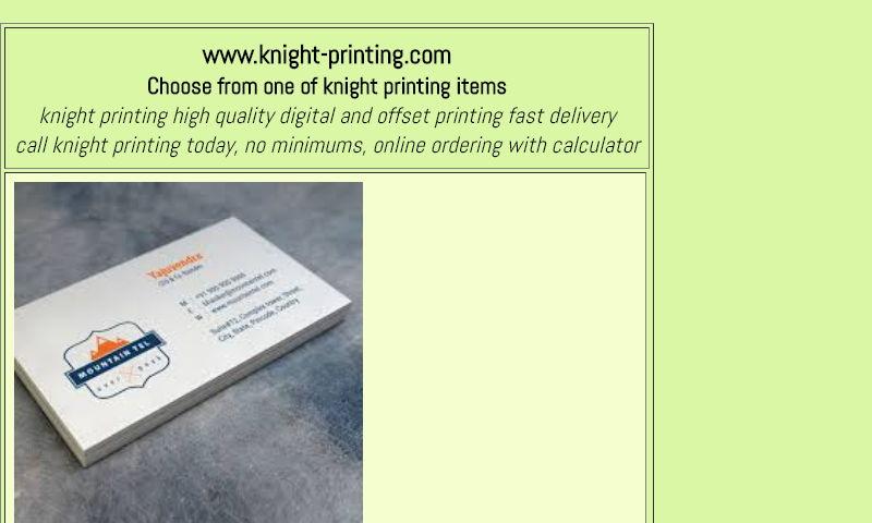 knight-printing.com