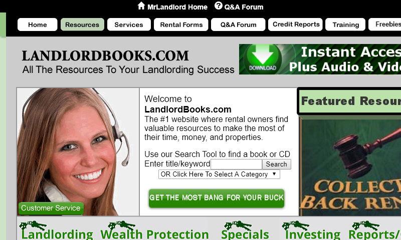landlordbooks.com