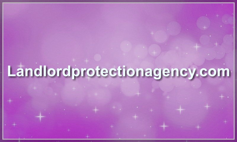 landlordprotectionagency.com