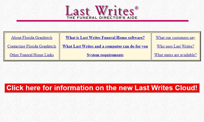 lastwrites.com