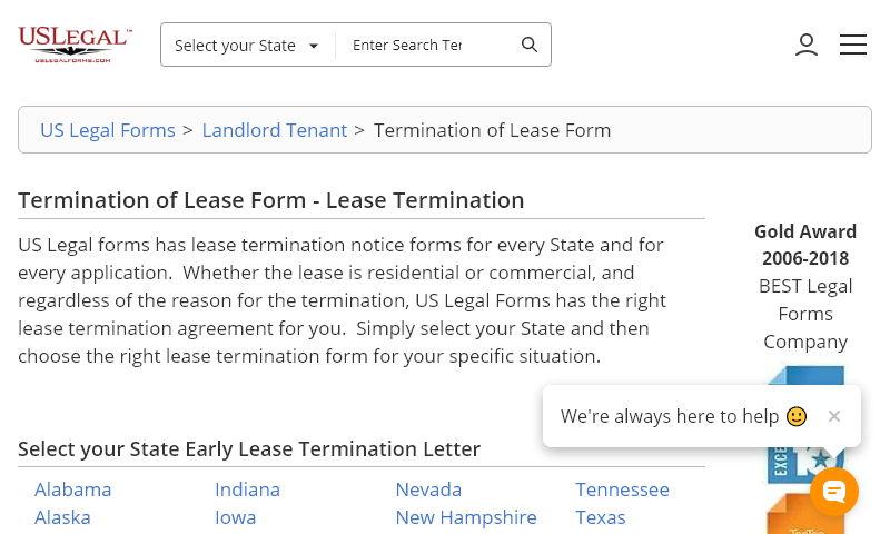 leaseterminationforms.com