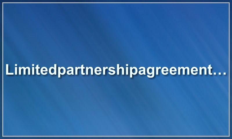limitedpartnershipagreement.com.jpg