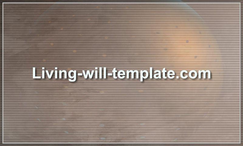 living-will-template.com