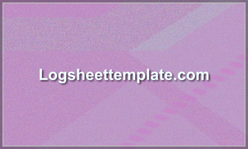 logsheettemplate.com