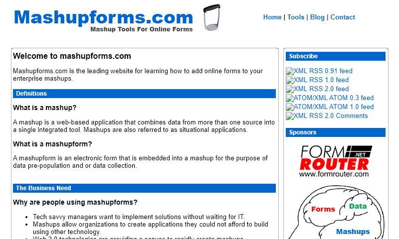 mashupforms.com
