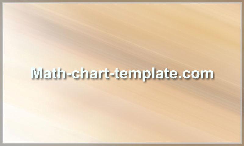 www.math-chart-template.com