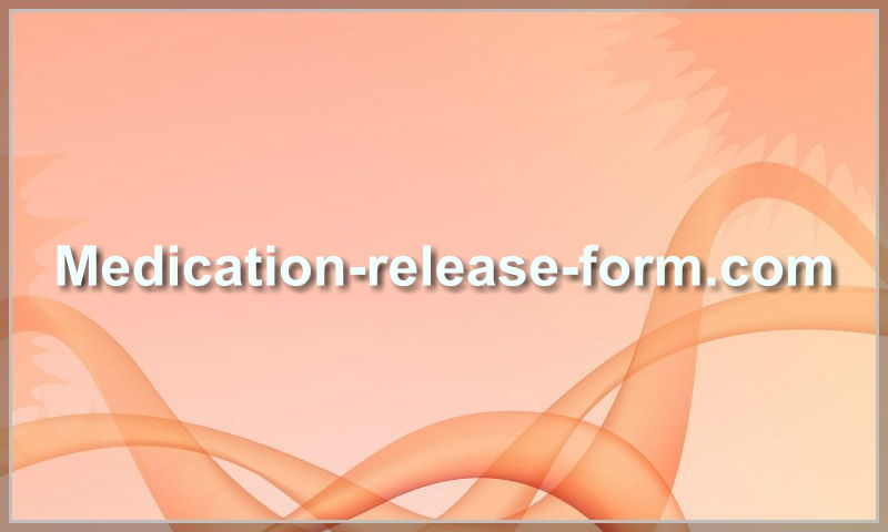 medication-release-form.com