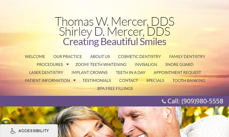 mercerdentistry.com