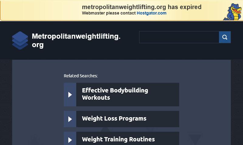 metropolitanweightlifting.org