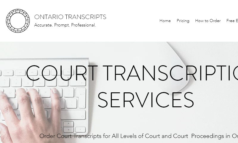 mycourttranscripts.com