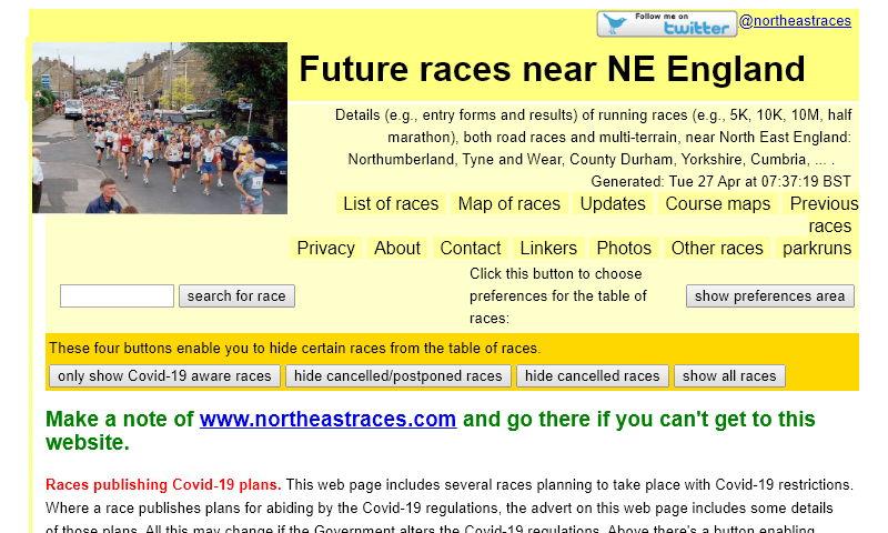 northeastraces.co.uk